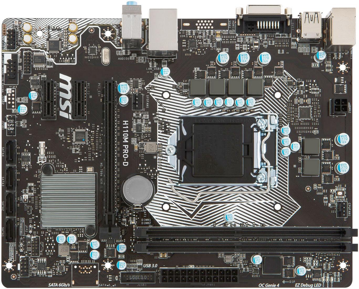 Základní deska MSI H101M PRO-D