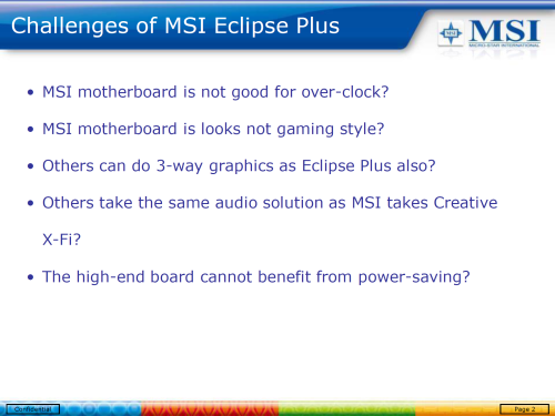 MSI X58 Eclipse Plus - Deska vypiplaná k dokonalosti