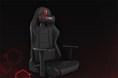SPC Gear SR300F V2 BK: podařená herní židle