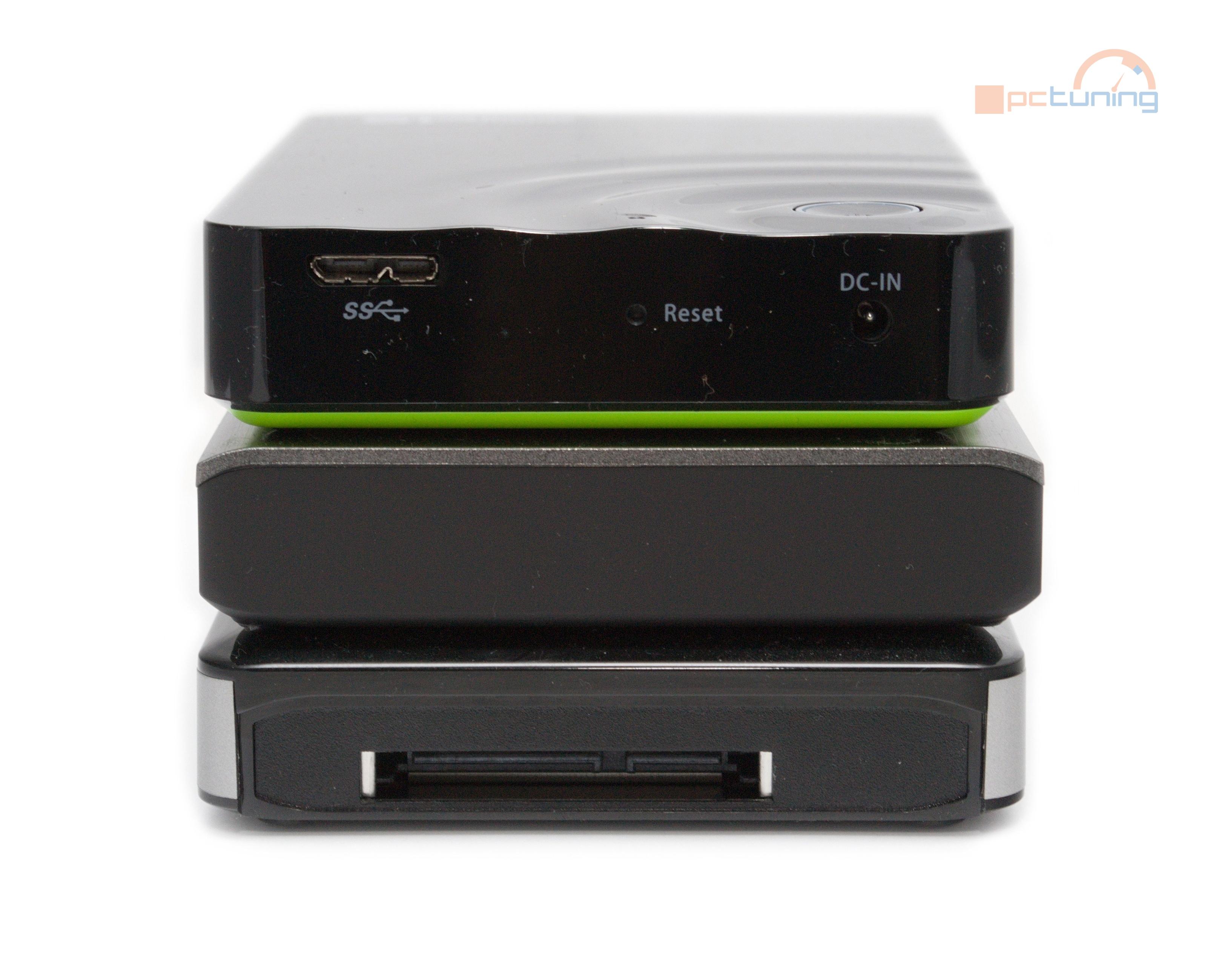 Test mobilních pevných disků s wireless přístupem