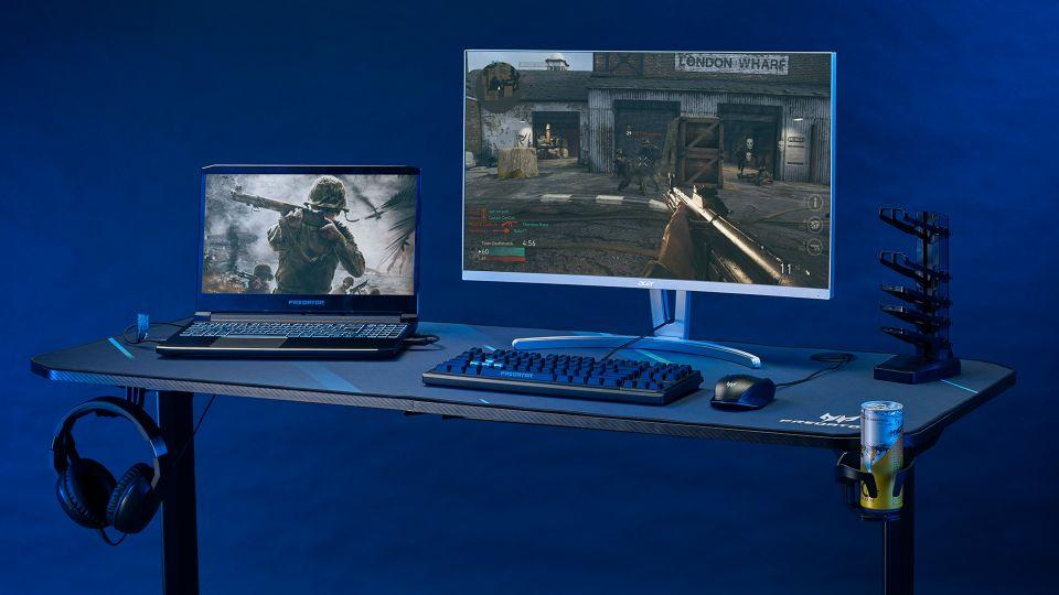 Acer ukázal stolní PC s 12. generací Intel Core a 240Hz herní projektor