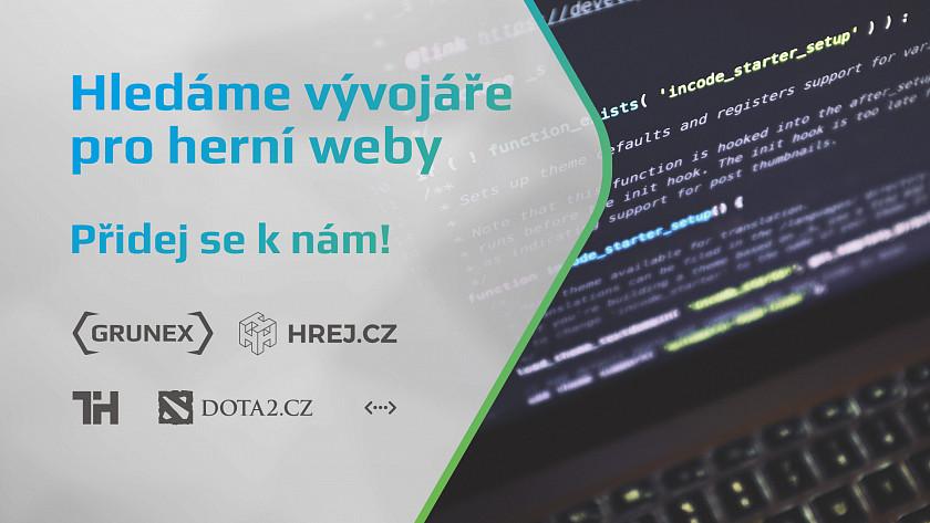 Společnost Grunex hledá vývojáře nejen pro herní weby