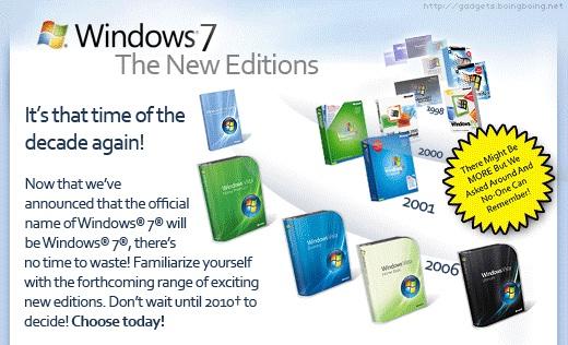 Windows 7 - shrnutí faktů a základních informací