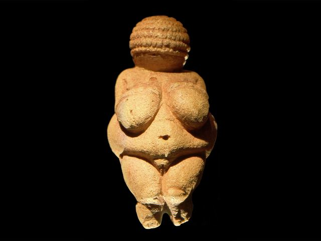 """""""Venus of Willendorf frontview retouched 2"""" by User:MatthiasKabel - Own work. Licensed under CC BY 2.5 via Wikimedia Commons."""
