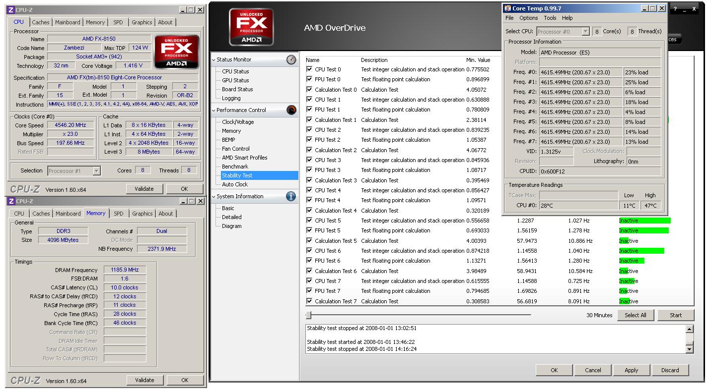 Dodatek k článku o taktování AMD Bulldozer