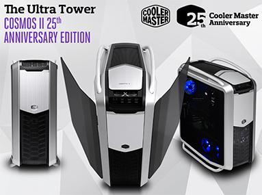 Vyhlášení s Cooler Master o Cosmos II a další ceny za 18 tisíc