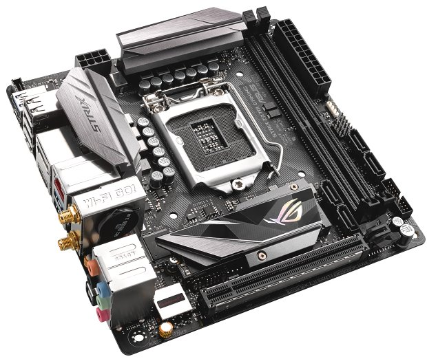 Asus ROG Strix Z270I Gaming: nejmenší deska pro Kaby Lake