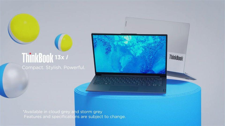 ThinkBook 13x i je lehký a dobře vybavený firemní počítač