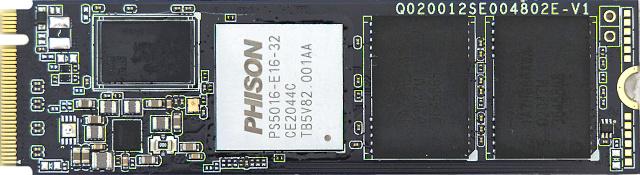 Disk Corsair MP600 Core zepředu