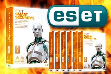 Soutěžíme o deset licencí ESET Smart Security 5