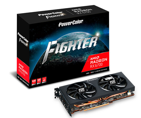 Radeon RX 6700 uniká v provedení Fighter od PowerColor