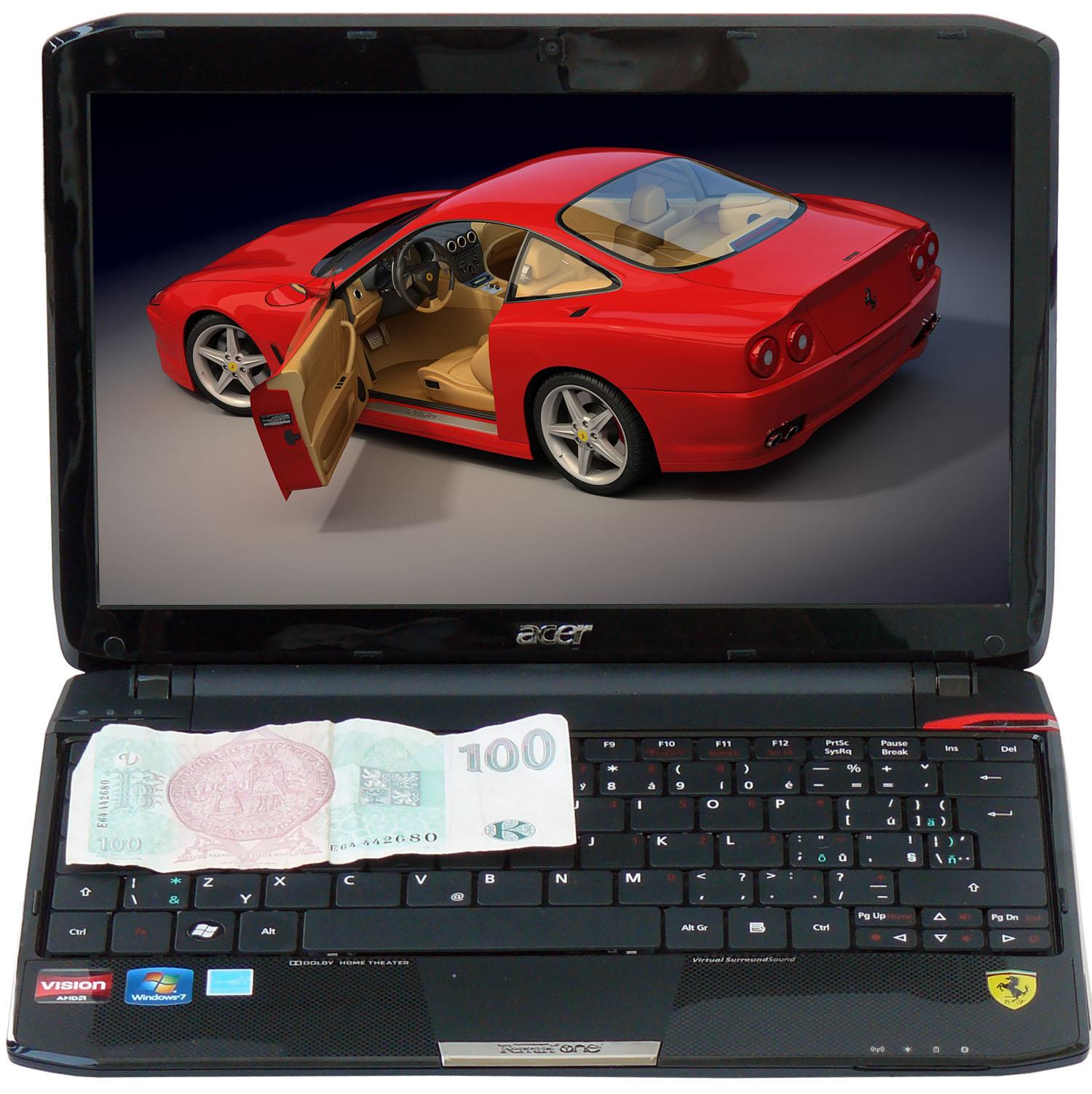 Acer Ferrari One 200 — malý a luxusní s příjemnou cenou