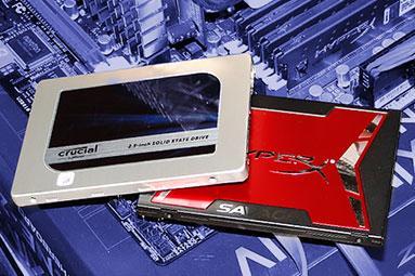 240GB SSD: Kingston HyperX Savage a Crucial MX200 v testu