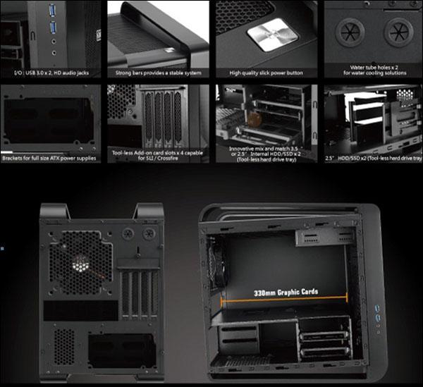 Xigmatek představil micro-ATX skříň Aquila