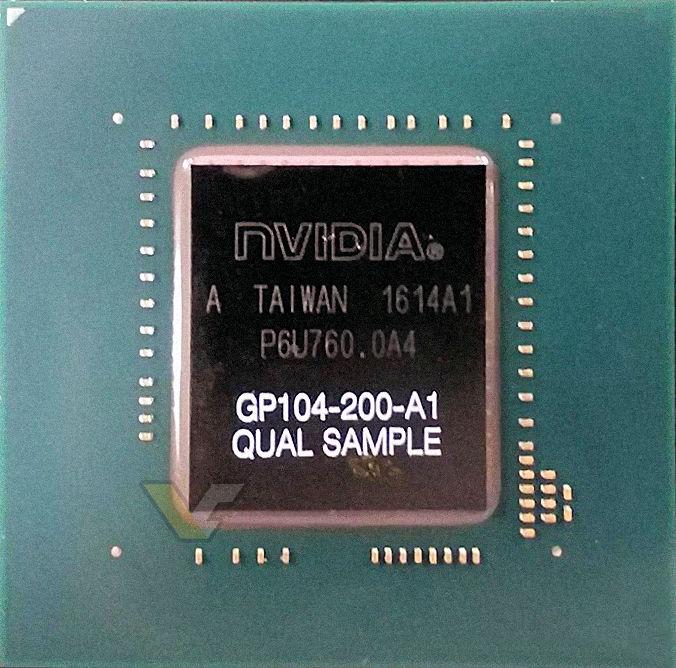 GeForce GTX 1080 nese GDDR5X