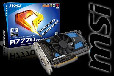 MSI HD R7770 Power Edition – karta s unikátním chlazením