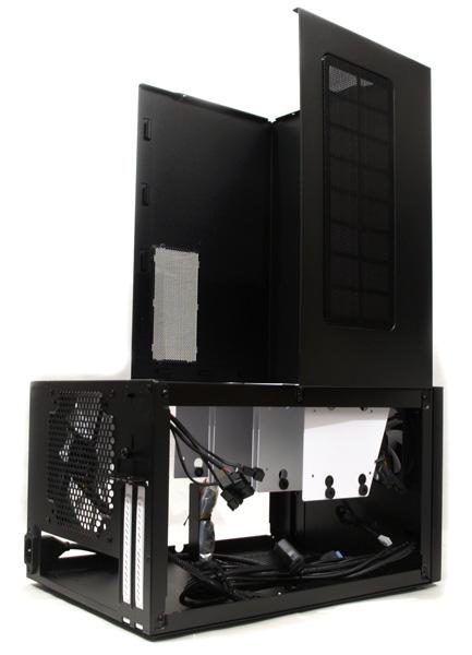 FractalDesign Node 304 – malá skříň z venku, velká uvnitř