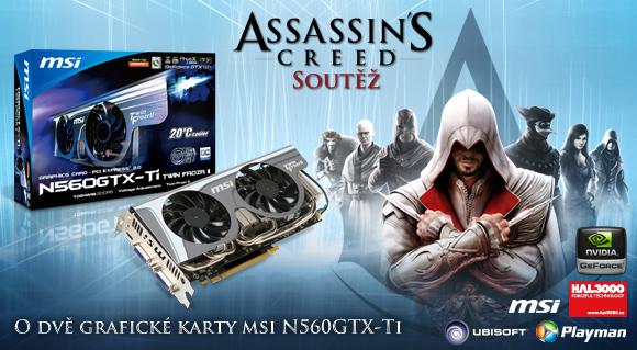 Rychlá soutěž o nový Assassin's Creed: Bratrstvo