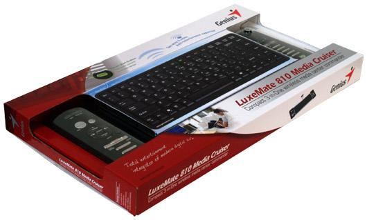 Genius LuxeMate 810 Media Cruiser - HTPC specialista