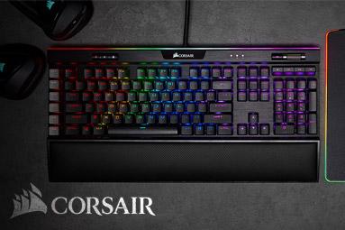 Corsair K95 RGB Platinum XT - Blesková PBT tlačítka