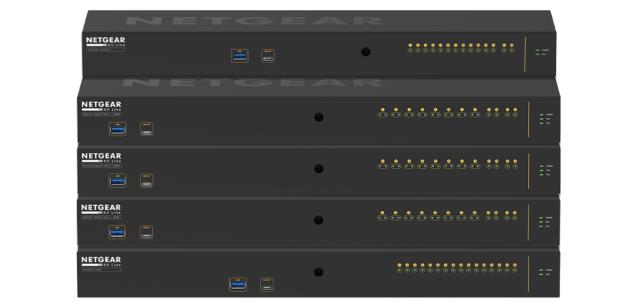 Nová řada přepínačů AV Line od Netgear je navržena pro účely AVoIP