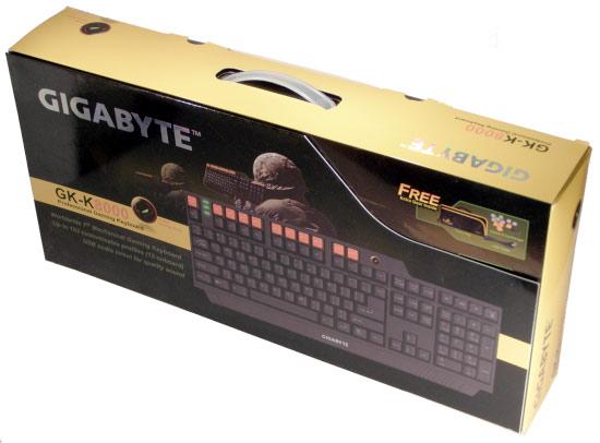 Gigabyte GK-K8000 - klávesový chameleón