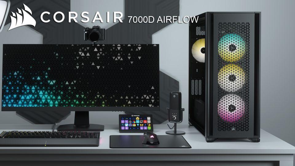 Test skříně Corsair 7000D AIRFLOW