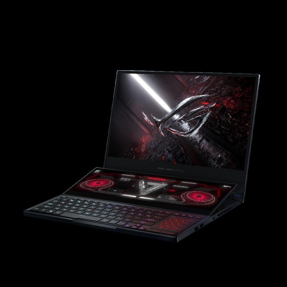 Asus ROG Zephyrus Duo 15 SE je nadupaný herní notebook s dvěma displeji