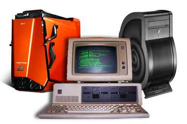 PC je tu 30 let – vývoj skříní od žlutých krabic až ke šnekům