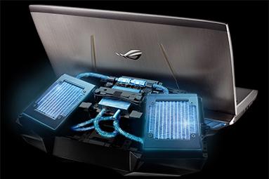 Asus GX700 – vodou chlazený, brutální herní notebook