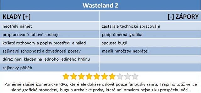 Wasteland 2: návrat RPG, které dalo vzniknout Falloutu