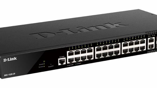 D-Link představil stohovatelné Smart Managed switche DGS-1520