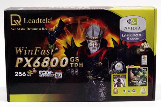 Extrémní overclocking - GeForce 6800GS