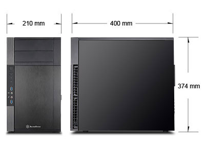 SilverStone Precision PS07: promyšlená skříň přizabitá cenou