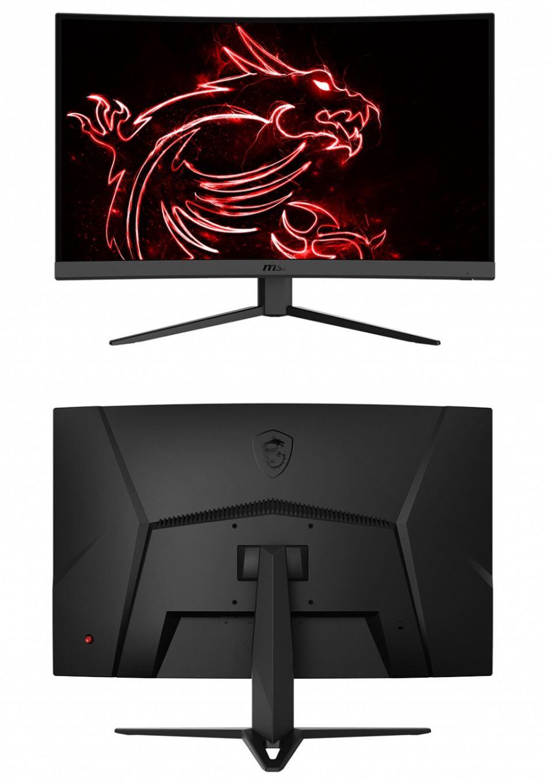 MSI představilo MAG Optix G27C4, zakřivený monitor s FreeSync