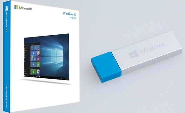 Operační systém Microsoft Windows 10 Home CZ 32-bit/64-bit USB Flash Drive