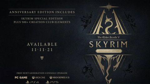 Na podzim dorazí speciální The Elder Scrolls V: Skyrim Anniversary Edition