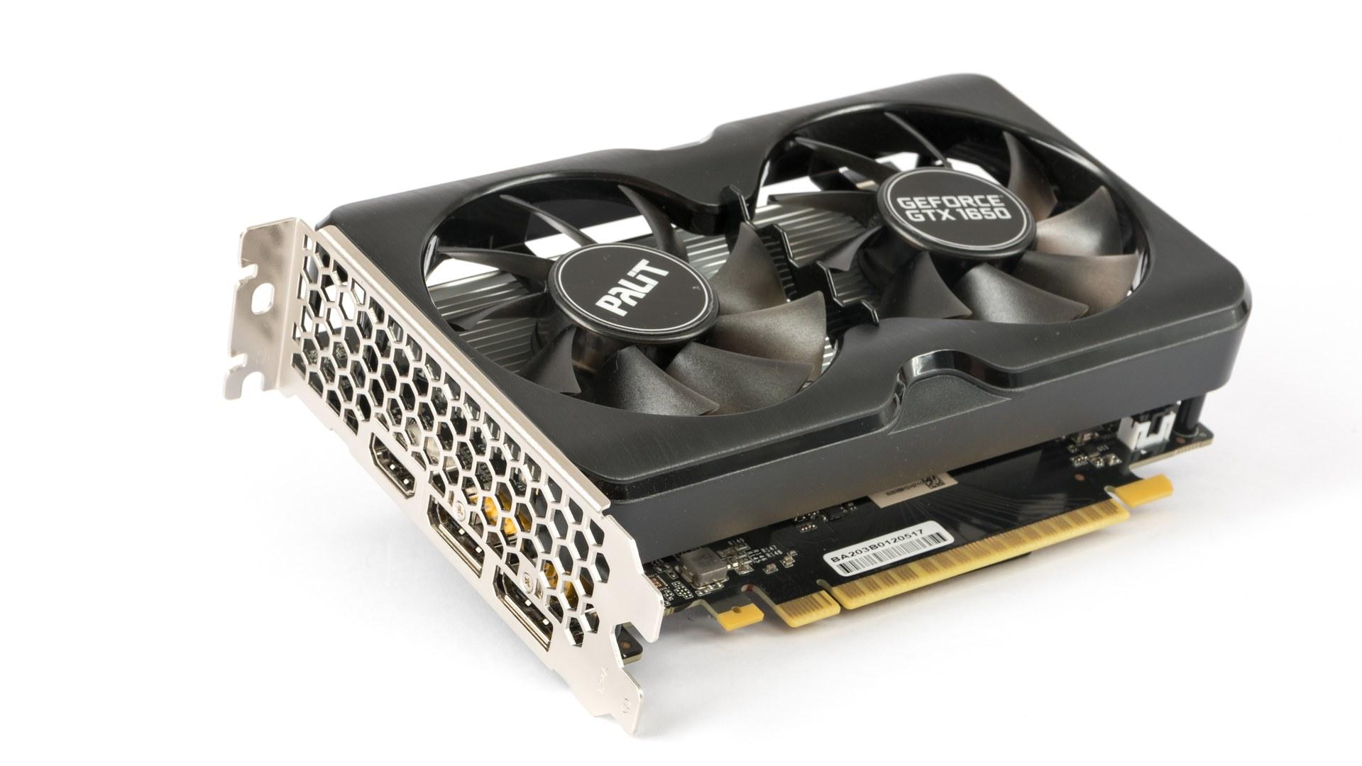Palit GTX 1650 s GDDR6: vyšší výkon s rychlejšími pamětmi