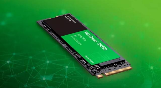 WD uvede do obchodů levné M.2 SSD Green SN350
