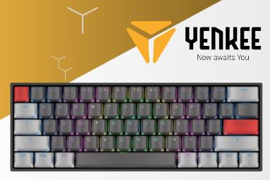 Vyhlášení výherců soutěže o tři herní klávesnice Yenkee Atom