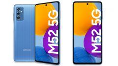 Samsung Galaxy M52 5G v prodeji. Láká na dlouhou výdrž baterie