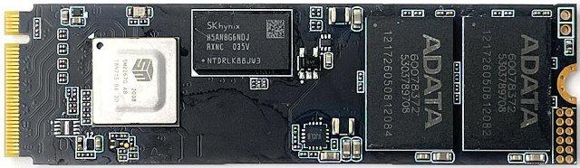 Disk ADATA s řadičem SMI (zdroj: PCT)