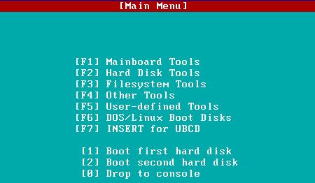 Ultimate Boot CD - záchranář jak na zavolanou