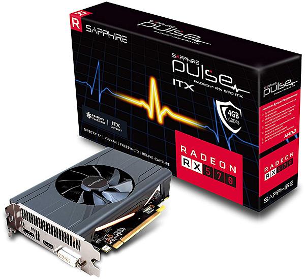 Grafická karta AMD Radeon RX 570 – Sapphire Radeon PULSE ITX RX 570