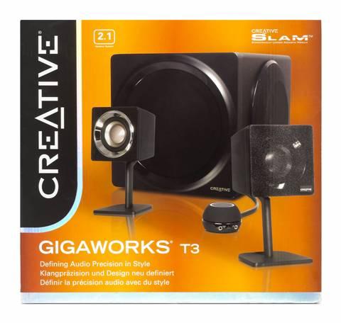 Creative Gigaworks T3 - není třeba vždycky surround