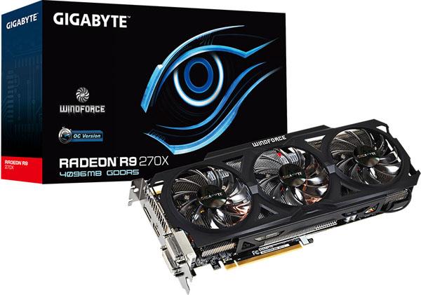 Gigabyte vydává 4 GB variantu grafické karty Radeon R9 270X