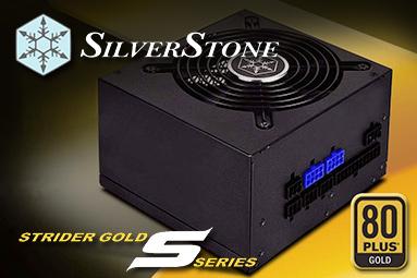 Silverstone Strider Gold S 550 W: zlatá platforma High Power