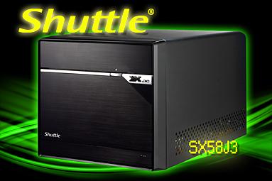 """Shuttle SX58J3 — highendový počítač v """"krabici od bot"""""""