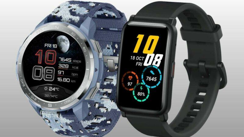 Ve slevě jsou chytré hodinky Honor Watch GS Pro a Honor Wach ES