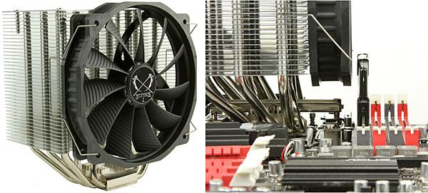 Chladič procesoru Scythe SCMGD-1000 Mugen MAX